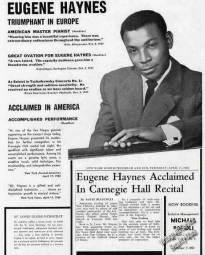 Legendary East St. Louisans: Eugene Haynes, ClassicalPianist